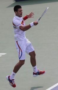 Novak Djokovic Tennis: Tournament Tough All the Time