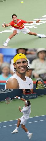 Tennis: Novak Djokovic, Rafael Nadal and Roger Federer Compete in Abu Dhabi Clash
