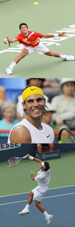 Who is number 1 in men's tennis?