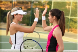 Tennis brings like-minded people together